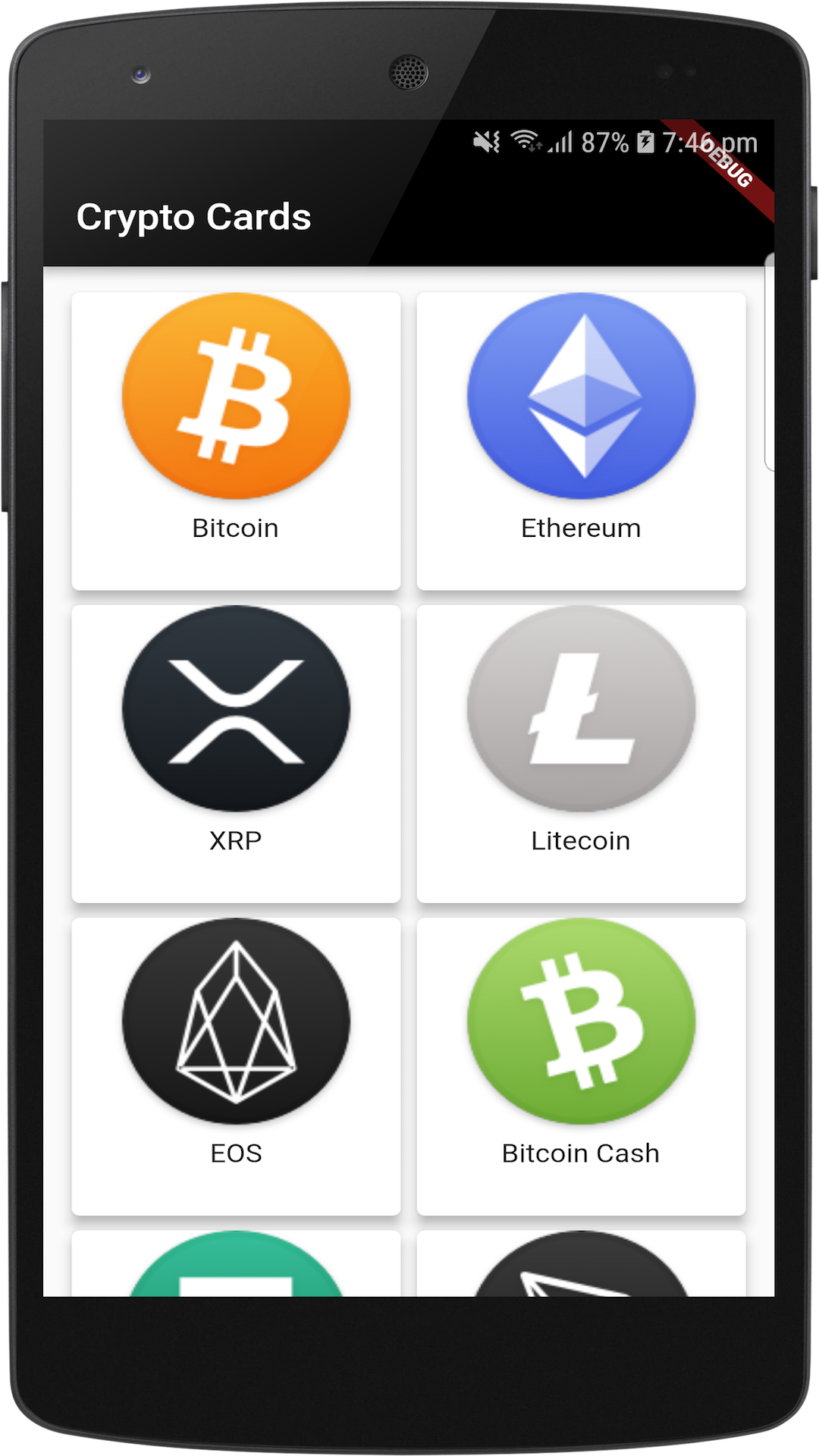 Crypto Cards   It's All Widgets!